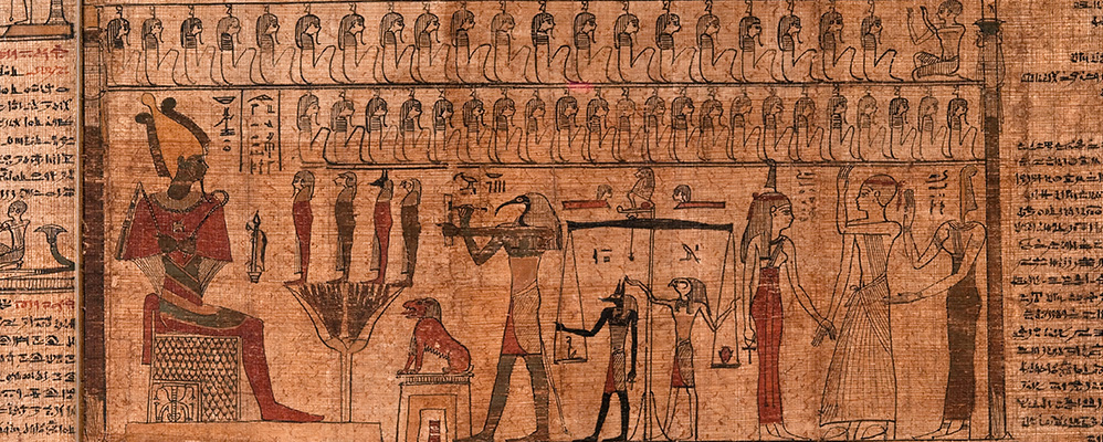 Egyptian book of the dead (Mon.script.hierogl. 1) | © State Museum of Egyptian Art