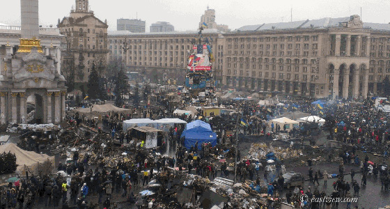 © East View Information Services (Collection of photographs from Maidan Nezalezhnosti, https://dlib.eastview.com/browse/staticcollection/64807?i=109)